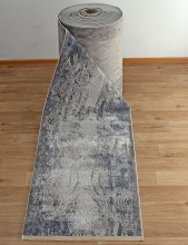 Ковровая дорожка 03859A - BLUE / BLUE - коллекция ARMINA