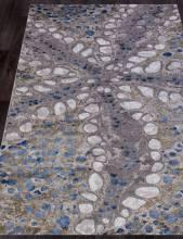 Ковер 18800 - 953 GREY BLUE - Прямоугольник - коллекция ARMODIES