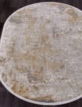 Ковер 9303 - GREY / BEIGE - Овал - коллекция BIBLOS