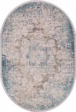 Ковер 9304 - BEIGE / BLUE - Овал - коллекция BIBLOS - фото 2