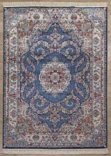 Ковер 08612T - BLUE / BLUE - Прямоугольник - коллекция BROOKLYN