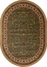 Ковер 5471 - GREEN - Овал - коллекция BUHARA - фото 2
