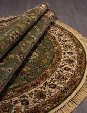 Ковер 5471 - GREEN - Овал - коллекция BUHARA - фото 3