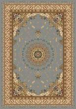 Ковер d027 - BLUE - Прямоугольник - коллекция BUHARA