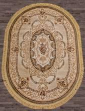 Ковер d058 - CREAM - Овал - коллекция BUHARA