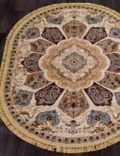 Ковер D428 - CREAM - Овал - коллекция BUHARA