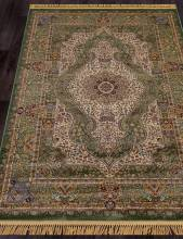 Ковер D432 - GREEN - Прямоугольник - коллекция BUHARA