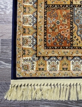 Ковер 02M002 - NAVY IRANI - Прямоугольник - коллекция COMTESSE IRANI - фото 3