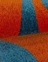 Ковер 0772 - ORANGE - Прямоугольник - коллекция CRYSTAL - фото 4