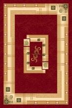 Ковер 5263 - RED - Прямоугольник - коллекция DA VINCI