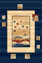 Ковер 5409 - NAVY - Прямоугольник - коллекция DA VINCI