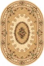 Ковер 5440 - CREAM - Овал - коллекция DA VINCI