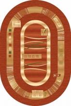 Ковер d025 - TERRA - Овал - коллекция DA VINCI