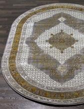 Ковер 17340 - 957 - Овал - коллекция ELITE