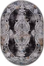 Ковер 18131 - GRAY / BLACK - Овал - коллекция ERVA - фото 2