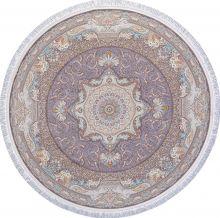 Ковер 144 - MELANGE PINK - Круг - коллекция FARSI 1500 - фото 2