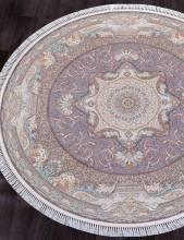 Ковер 144 - MELANGE PINK - Круг - коллекция FARSI 1500