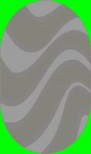 Ковер 7866 - 196 - Овал - коллекция FASHION SHAGGY