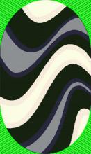 Ковер 7866 - 91 - Овал - коллекция FASHION SHAGGY