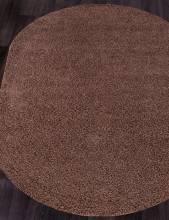 Ковер S600 - BROWN - Овал - коллекция FUTURA