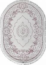 Ковер 07857A - FUCHSIA /WHITE - Овал - коллекция HUNKAR - фото 2