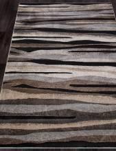 Ковер 4091 - BEIGE-BLACK - Прямоугольник - коллекция IBIZA