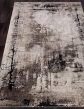 Ковер 4870 - BEIGE-BLACK - Прямоугольник - коллекция IBIZA