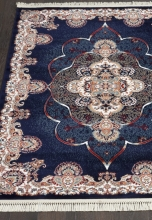 Ковер D516 - NAVY - Прямоугольник - коллекция ISFAHAN