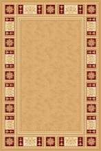 Ковер 5347 - BEIGE - Прямоугольник - коллекция IZMIR
