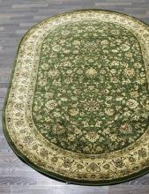 Ковер 5471 - GREEN - Овал - коллекция IZMIR