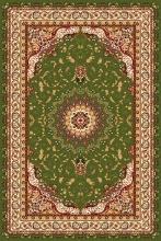 Ковер d027 - GREEN - Прямоугольник - коллекция IZMIR