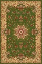 Ковер d037 - GREEN - Прямоугольник - коллекция IZMIR