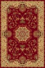 Ковер d037 - RED - Прямоугольник - коллекция IZMIR