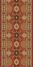 Ковровая дорожка d101 - RED - коллекция IZMIR