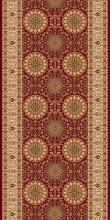 Ковровая дорожка d132 - RED - коллекция IZMIR