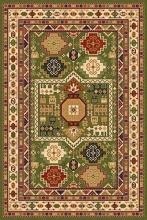 Ковер d294 - GREEN - Прямоугольник - коллекция IZMIR