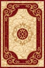 Ковер d045 - RED - Прямоугольник - коллекция KAMEA