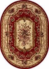 Ковер 5439 - RED - Овал - коллекция LAGUNA - фото 2