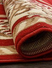 Ковер 5602 - RED - Овал - коллекция LAGUNA - фото 3