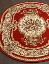 Ковер 5602 - RED - Овал - коллекция LAGUNA