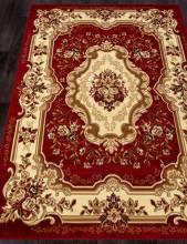 Ковер d017 - RED - Прямоугольник - коллекция LAGUNA