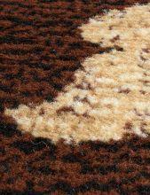 Ковер d184 - BROWN - Прямоугольник - коллекция LAGUNA - фото 3