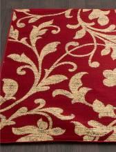 Ковер d184 - RED - Прямоугольник - коллекция LAGUNA