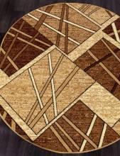 Ковер D487 - BEIGE - Овал - коллекция LAGUNA