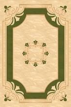 Ковер 5333 - CREAM-GREEN - Прямоугольник - коллекция LEONARDO