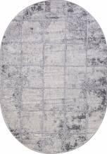 Ковер 1301A - COKEN D.GREY / K.GREY - Овал - коллекция MARDAN - фото 2