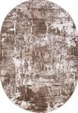Ковер 5022A - VIZON COKEN / BROWN - Овал - коллекция MARDAN - фото 2