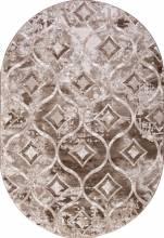 Ковер 5023A - VIZON COKEN / BROWN - Овал - коллекция MARDAN - фото 2