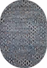 Ковер D563 - BEIGE-BLUE - Овал - коллекция MATRIX - фото 2