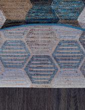 Ковер D579 - BEIGE-BLUE - Овал - коллекция MATRIX - фото 5